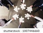 teamwork of partners. concept... | Shutterstock . vector #1007446660