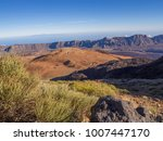view on montana blanca on... | Shutterstock . vector #1007447170