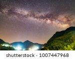 horizontal milky way in petrilo | Shutterstock . vector #1007447968