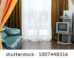 big and bright interior of... | Shutterstock . vector #1007448316