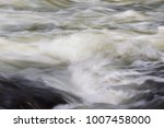 a powerful stream of mountain... | Shutterstock . vector #1007458000