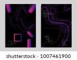 abstract banner template with... | Shutterstock .eps vector #1007461900