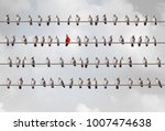different individual creative...   Shutterstock . vector #1007474638