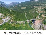 aerial view of the djurdjevica... | Shutterstock . vector #1007474650
