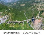aerial view of the djurdjevica... | Shutterstock . vector #1007474674