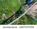 aerial view of the djurdjevica... | Shutterstock . vector #1007474704