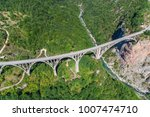 aerial view of the djurdjevica... | Shutterstock . vector #1007474710