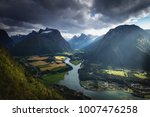 view from romsdalstrappa... | Shutterstock . vector #1007476258