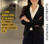 inspirational motivation quote... | Shutterstock . vector #1007484970