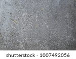 old gray concrete wall texture... | Shutterstock . vector #1007492056