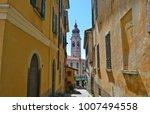 menaggio town  lake como  italy | Shutterstock . vector #1007494558