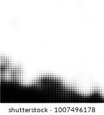 halftone black and white.... | Shutterstock .eps vector #1007496178