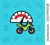 set of extreme sports icons.... | Shutterstock .eps vector #1007496928