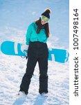 leisure  winter  sport concept  ... | Shutterstock . vector #1007498164