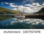 harbour in andalsnes  norwegian ...   Shutterstock . vector #1007507698