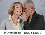happy elderly couple in love.... | Shutterstock . vector #1007513038