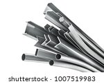 different metal products. metal ... | Shutterstock . vector #1007519983