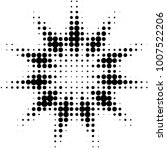 abstract grunge grid polka dot... | Shutterstock .eps vector #1007522206