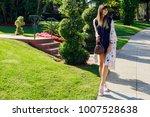 full length  portrait of...   Shutterstock . vector #1007528638