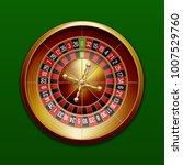 classic european roulette...   Shutterstock . vector #1007529760