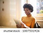 reading in relax  | Shutterstock . vector #1007531926