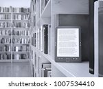 book store and e book on the...   Shutterstock . vector #1007534410