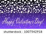 hearts design background.... | Shutterstock .eps vector #1007542918