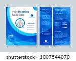 annual report  broshure  flyer  ... | Shutterstock .eps vector #1007544070