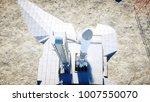 rocket before the start. space...   Shutterstock . vector #1007550070