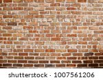 old red brick wall background... | Shutterstock . vector #1007561206