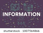 conceptual business...   Shutterstock . vector #1007564866