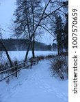winter in scandinavia  | Shutterstock . vector #1007570659