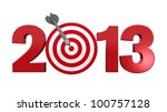 Next New Year 2013. Number Wit...