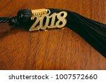 2018 graduation tassel | Shutterstock . vector #1007572660