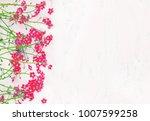 beautiful rustic floral...   Shutterstock . vector #1007599258