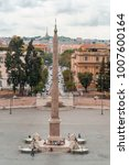 rome  italy july 2015   piazza...   Shutterstock . vector #1007600164