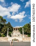 rome  italy july 2015   piazza...   Shutterstock . vector #1007601940