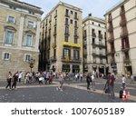 barcelona  spain   september... | Shutterstock . vector #1007605189