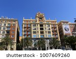 malaga  andalusia  spain   july ...   Shutterstock . vector #1007609260