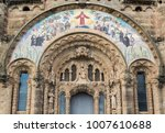 temple of the sacred heart of... | Shutterstock . vector #1007610688