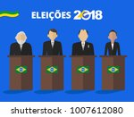 presidential candidates of... | Shutterstock .eps vector #1007612080