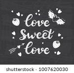 love sweet love. valentine's...