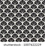 vintage art deco seamless... | Shutterstock .eps vector #1007622229