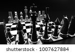 3d chess render  3d graphic... | Shutterstock . vector #1007627884