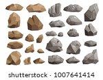 stone rock vector rockstone... | Shutterstock .eps vector #1007641414
