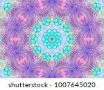 Kaleidoscope Abstract Of Splas...