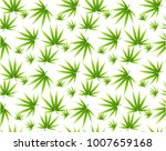 marijuana leaves seamless...