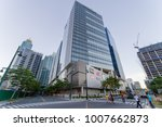 jan 20 2018 at front of up town ...   Shutterstock . vector #1007662873