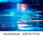 programming code abstract... | Shutterstock . vector #1007677918