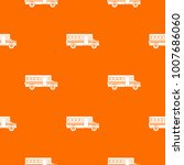 school bus pattern repeat... | Shutterstock . vector #1007686060